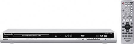 Panasonic DVDS27 DVD Player with Progressive Scan in Silver