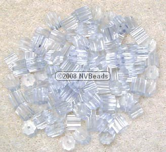 100 Clear Rubber Plastic Fish Hook Earring Safety Stoppers