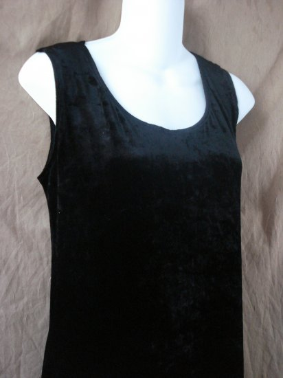 NWT new Carole Little black sleeveless cocktail dress size Large