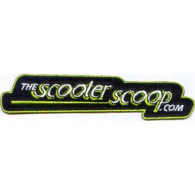 "Official ""theScooterScoop.com"" Jacket Patch"