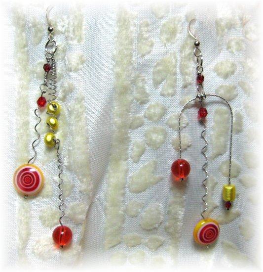 Citrus Fizz y Pop! - Earrings