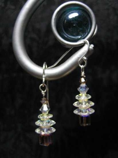 Champagne on Ice - Earrings