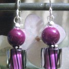 Raspberry Bounce - Earrings