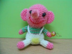 Amigurumi Little Elephant - Hikaru