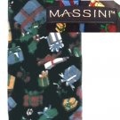 Man's necktie 100% silk by Massini Christmas tie packages