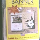 Banner craft kit create banners with paints needlepoint, etc