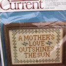 Cross stitch embroidery kit Current Mother's love sampler MIP