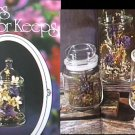 Preserving flowers instructions & arrangement booklet 1973 Earline Morgan