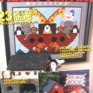 Plastic Canvas 23 patterns Noah's Ark, rug, birdhouse and more