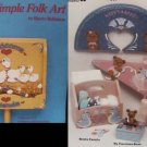 Folk Art Painting Sweet & Simple patterns by Robinson 13 projects