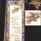Avon dove pin with Serenity prayer