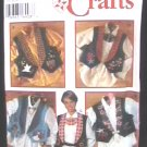 Simplicity 9657 women's holiday vest sewing pattern sz12-16 uncut