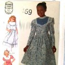 Simplicity Guinne Sax sewing pattern dress girls sz 12 uncut