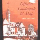 Colonial Williamsburg Official Guidebook & Map 1972 paperback