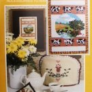 Current Country Kitchen cross stitch & sewing applique patterns