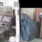 McCall's 4403 sewing pattern chair table ottomon cover & more