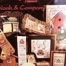 Cross stitch booklet Noah & Company Alma Lynne patterns