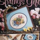 Cross Stitch leaflet Spring's Gift Leisure Arts number 2138