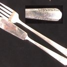 Rogers Talisman silverplate 1938 2 pieces