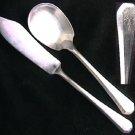 Rogers Antoinette IS silverplate 1931 flatware sugar spoon butter knife good