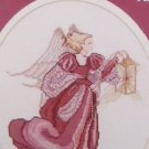 Cross stitch leaflet Victorian Angel from Mar Bek by Rebecca Waldrop