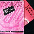 Vintage 1947 crochet edgings booklet 147 designs + 1943 booklet Laces & Edgings