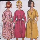 McCall's 7554 vintage sewing pattern misses robe 1964 woman's medium 14-16