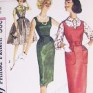 Simplicity 3077 vintage sewing pattern dress jumper blouse 1950s 16