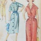 Simplicity 2399 vintage 1960 sewing pattern chemise shirt dress sz16 B 36