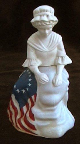 Avon Betsy Ross 1976 figurine Sonnet perfume cologne MIB
