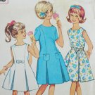 Simplicity 4922 vintage pattern girl princess line pleated dress size 14