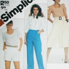 Simplicity 5447 misses pull on pants, short & culottes siz 10, 12, 14 uncut pattern