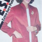 Simplicity 5270 ESP sewing pattern misses jacket sz 8, 10, 12 uncut