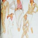 McCall's 6999 sewing pattern 1980 vintage misses jacket, skirt & pants sz 14 uncut