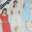 Simplicity 5374 Misses' Pullover dress stretch knits only sz 10 uncut sewing pattern