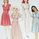 McCall 8181 sewing pattern misses dress old fashioned look sz 4 & 6 dolman sleeves