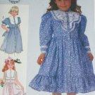 Simplicity 7407 girl dress size 6X sewing pattern Gunne Sax 1986 vintage