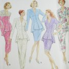 Simplicity 8232 sewing pattern 2 piece dress retro look sizes 6 & 8
