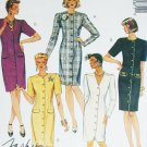 McCall 5187 sewing pattern misses fitted dress size 6 8 10