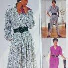 McCall 4102 Misses dress & jumpsuit sewing pattern uncut sz 16 18 20
