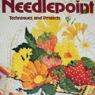Vintage 1977 Sunset Needlepoint techniques & project book