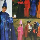 Simplicity 9703 costume sewing pattern child small Halloween wizard pirate devil