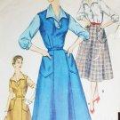 Simplicity 1284 vintage sewing pattern c 1950s jumper blouse sz 14 1/2 B 33