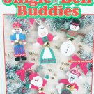 Plastic canvas needlepoint pattern booklet Jingle Bell Buddies 10 designs