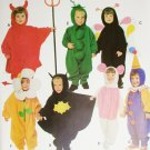 Simplicity 0643 sewing pattern Halloween costumes child sizes 1/2 to 4 uncut