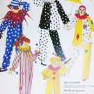 McCall P449 sewing Halloween costume clown child size 6 8 uncut