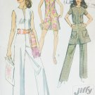 Simplicity 8745 sewing pattern jumpsuit & mini skirt sz 10 B 32 1/2 uncut