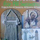 Macrame 1978 booklet 50 patterns for window curtains wall & plant hangings +