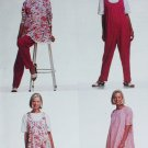 McCall 6410 sewing pattern maternity tunic jumpsuit pants sz 10-14 uncut