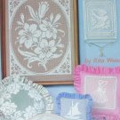 Lace Net Embroidery pattern instruction booklet American School Needlework 3031